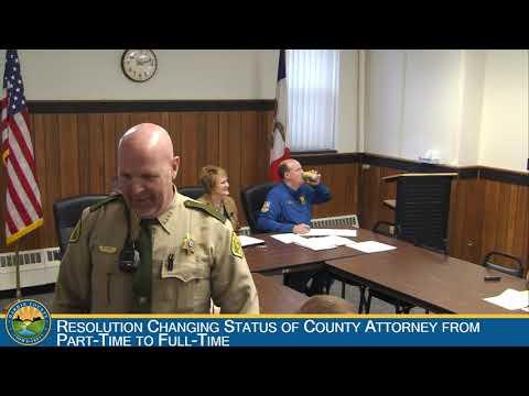 Hardin County Board of Supervisors Meeting 11-7-2018