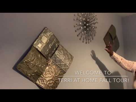 My 2019 Fall/Glam Home Tour Part 1.