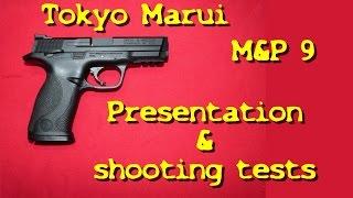 Airsoft - Tokyo Marui M&P9, présentation et tests de tir - Pulse Japan