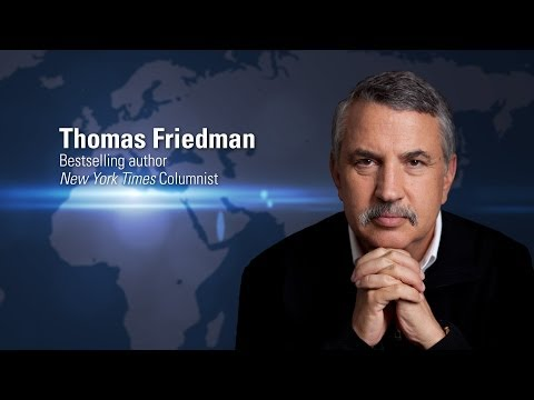 Thomas Friedman | Globalization of Higher Education