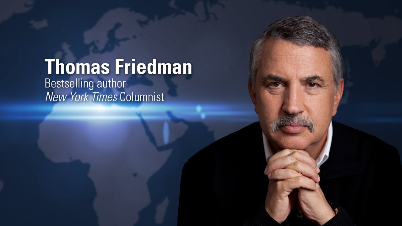Thomas Friedman | Globalization of Higher Education - YouTube