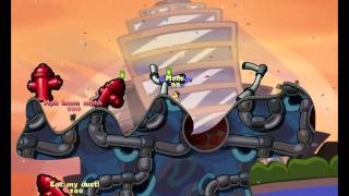 Team Fortress 2 in Worms: Reloaded (Pyro, Scout, Soldier) HD - Part 1