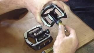 Shimano saint pedal service DIY How To