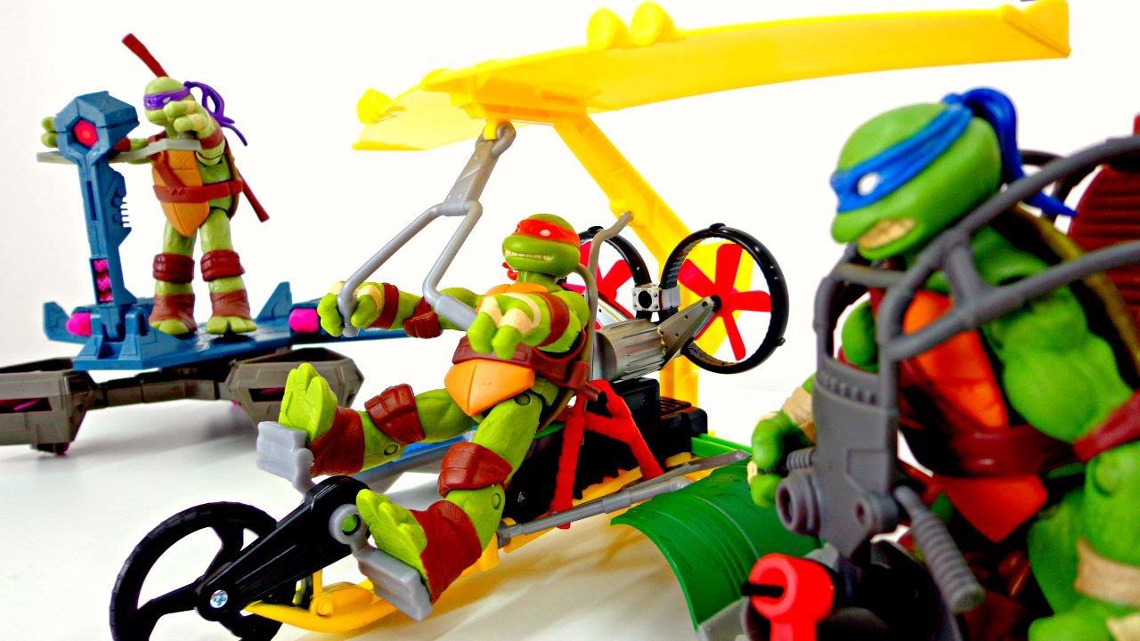 Ninja Toys For Boys : Toys for boys kids videos ninja turtle youtube