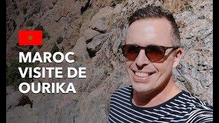 MAROC ???????? VISITE DE OURIKA (LES MONTAGNES DU MAROC SONT MAGNIFIQUES)