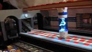 U-Bahn Erweiterung in meiner beleuchteten Lego-Stadt