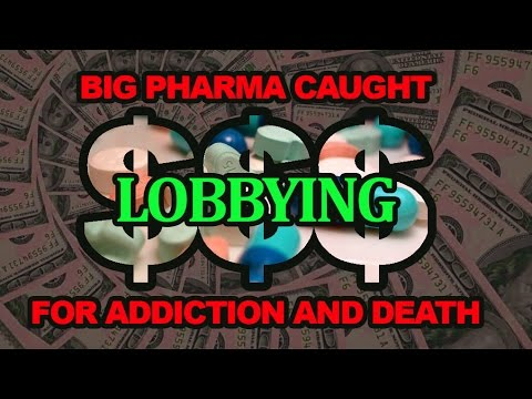 Big Pharma Admits Lobbying AGAINST Marijuana to Protect Revenue