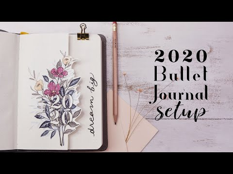 2020 Yearly Bujo Setup | How To Begin Bullet Journaling a Comprehensive Guide