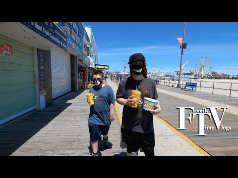 The Wildwood Boardwalk 2020 Our Favorite Summer Day And Night Vlog