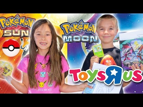 Toys'R'Us Pokemon Event - Sun & Moon, Alolan Vulpix (Vlog 5/13/2017)