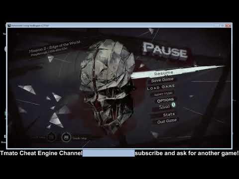 Dishonored 2 Immortal infinite runes mana cheats etc Tmato Cheat Engine