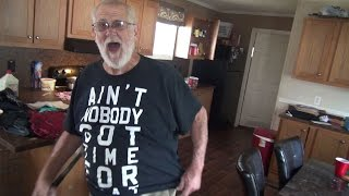 GRANDPA GETS ROBBED! (PRANK BACKFIRE)