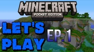 Let's Play Minecraft Pocket Edition Multiplayer - Ep.1