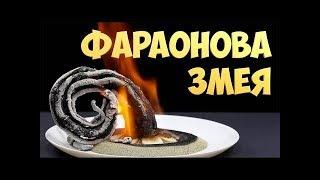 как сделать пепельную змею
