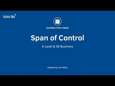 Span of Control (Organisational Structure)