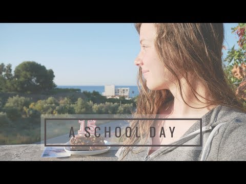 A school day (in Spain)