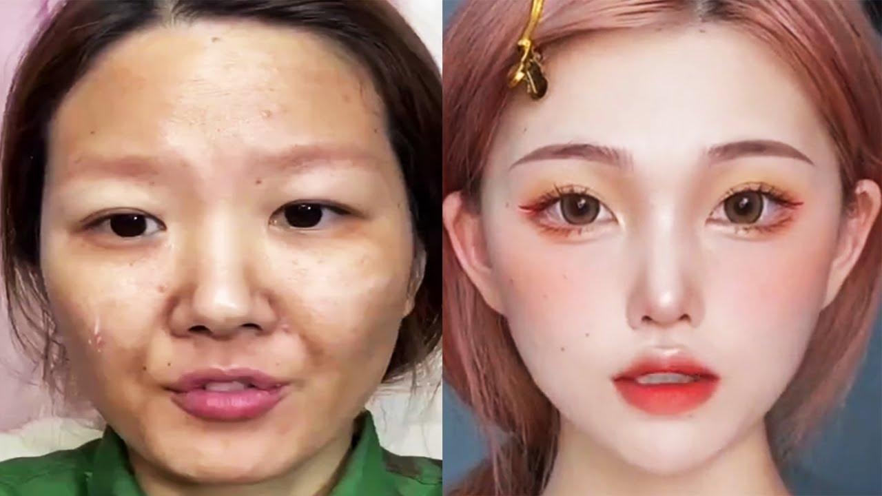 Asian Makeup Tutorials Compilation | New Makeup 2021 | 美しいメイクアップ/ part 11
