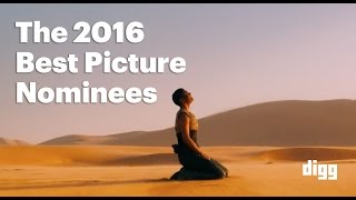 The 2016 Best Picture Nominees, In Under 4 Minutes [SPOILERS]