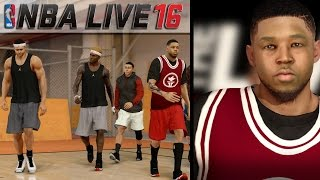NBA LIVE 16 Pro-Am Live Run Gameplay - The Game Winning Shot!