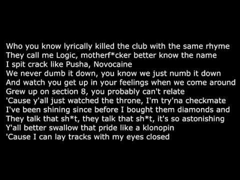 Logic - Nasty (Lyrics)