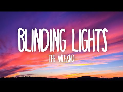 The Weeknd  Blinding Lights (Lyrics)