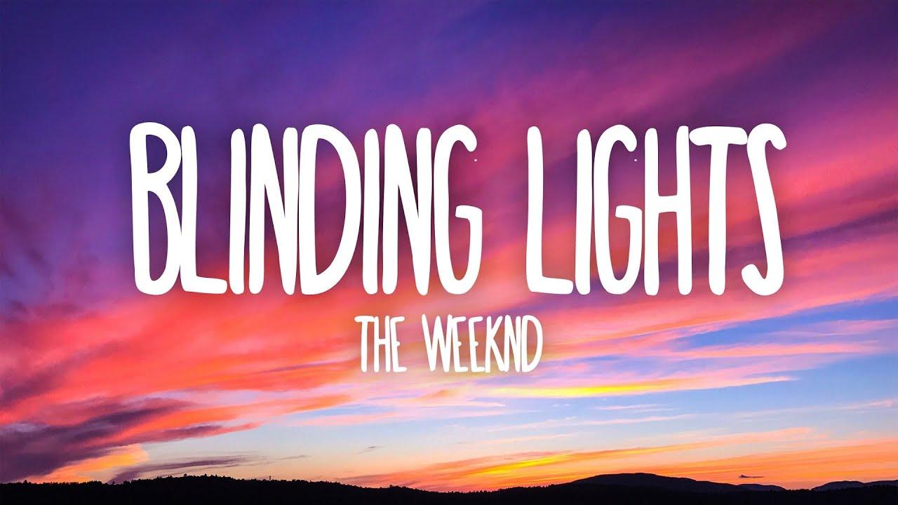 Photo of The Weeknd – Blinding Lights (Lyrics)