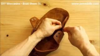 DIY Moccasins (Boat Shoes St.) 만들기 2/2