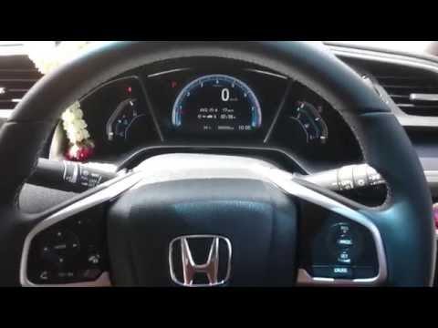รีวิว ภายใน All New Honda Civic 1.8EL 2016