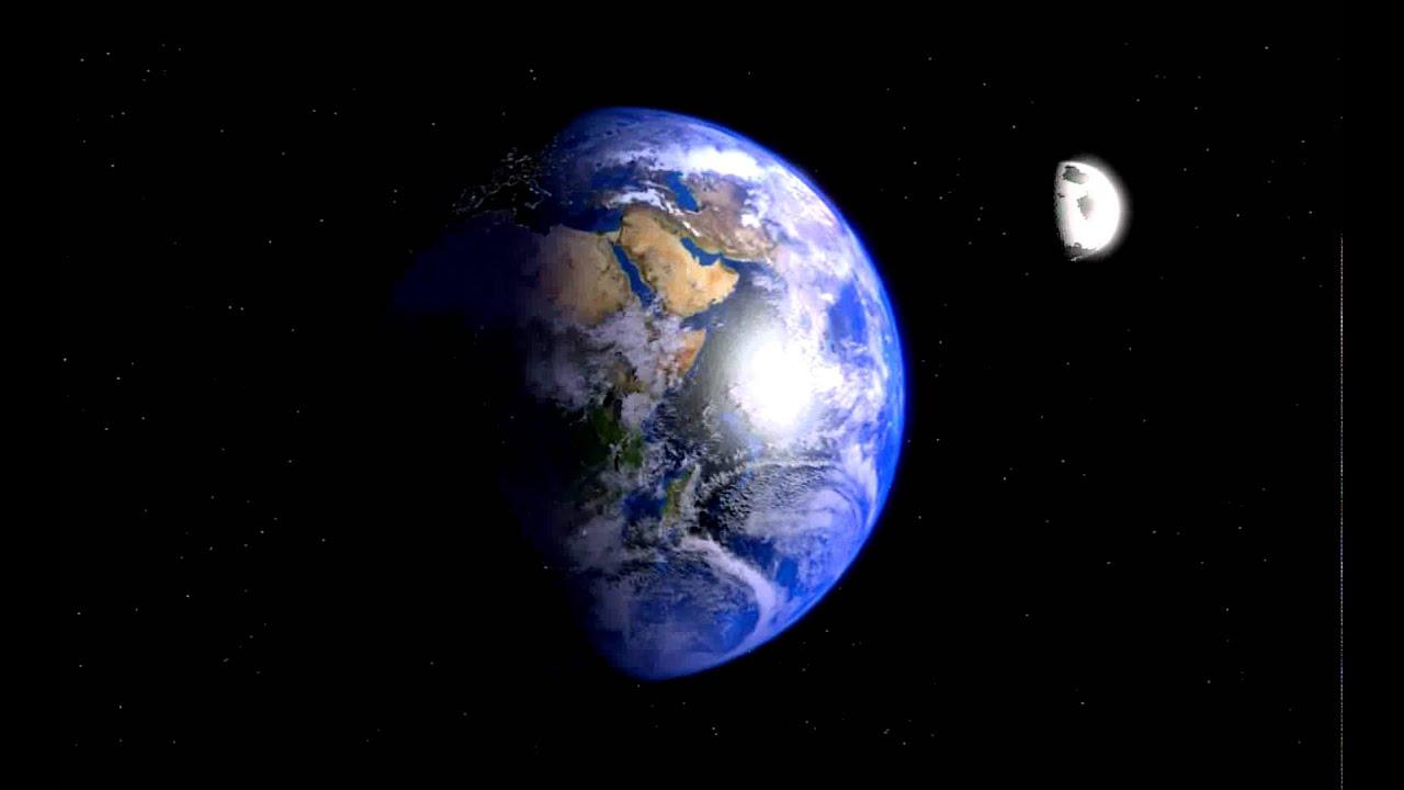 7095adbd251 Earth Moon and Sun test Blender 3d - YouTube