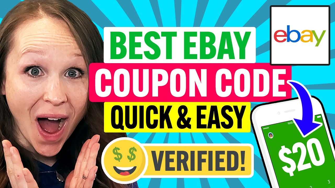 Download 🤑 Ebay Coupon Code 2021: Get Discounts Quick & Easy in 2 Minutes! (100% Works)