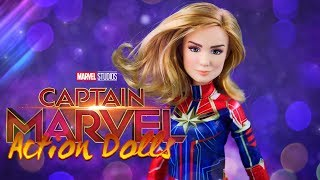 Unbox Daily: ALL NEW Captain Marvel Action Dolls by Hasbro