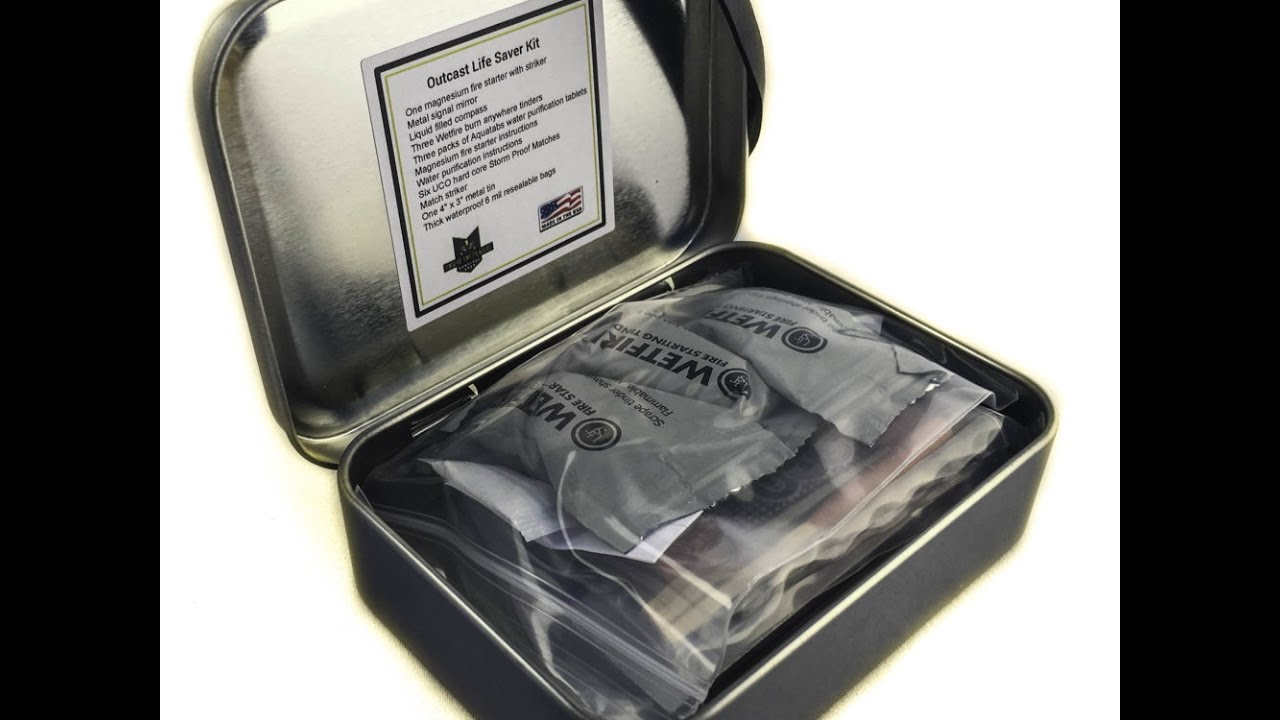 Fight or Flight Survival Gear Outcast Survival Kit