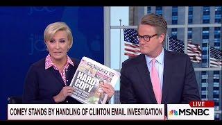 MSNBC Hosts Joe Scarborough and Mika Brzezinski Get Engaged
