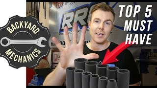 Top 5 Garage must have tools | Backyard Mechanics