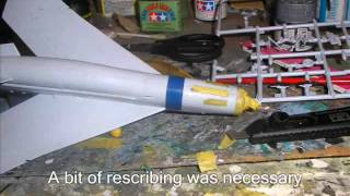 Airfix English Electric Lightning 1/72 Scale New Tooling Build Vid