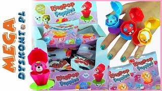 Ring POP Puppies  Pierścionki z pieskami niespodziankami  zabawki do kolekcjonowania