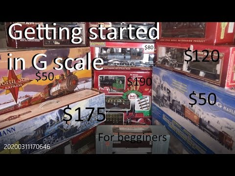Getting started in G scale trains