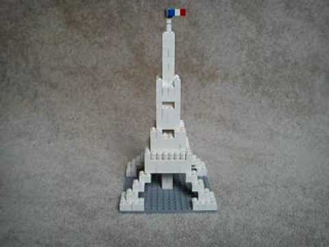 Lego Eiffeltower Youtube