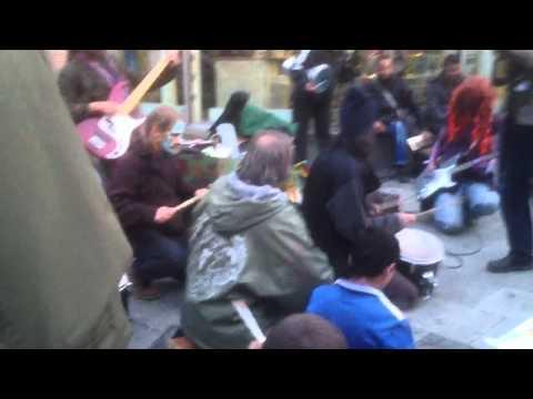 Frankfurt post protest performance