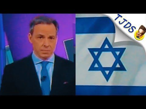 Jake Tapper's WORST FAIL EVER As He Defends Trump On Jerusalem