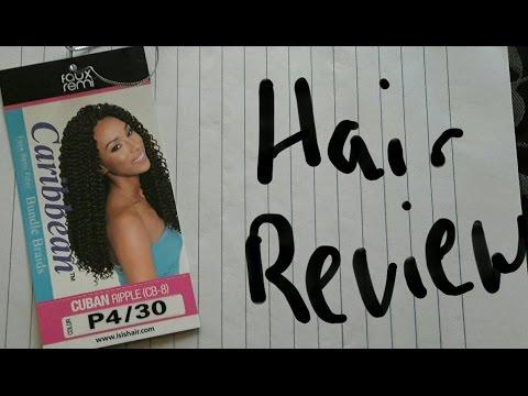 Caribbean faux remi Hair review