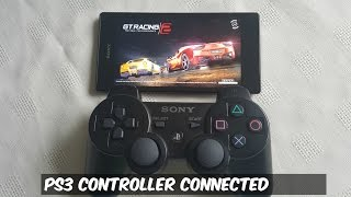 Xperia T3 Gaming With PS3/PS4 Controller