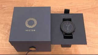 Vector Smartwatch Unboxing and Impressions