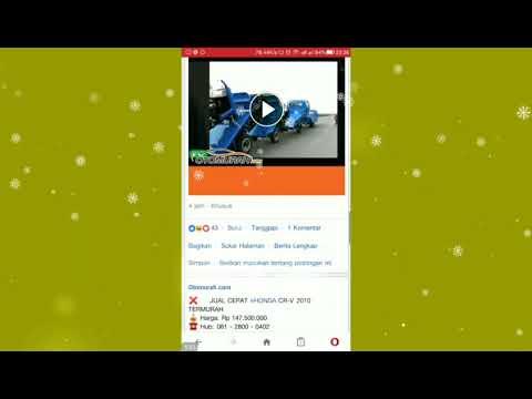 cara download video facebook di opera mini