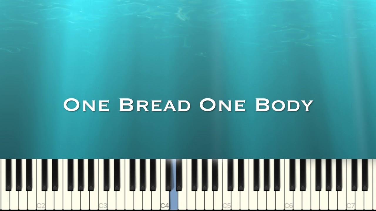 One Bread One Body   piano cover 𝕀 hymn piano