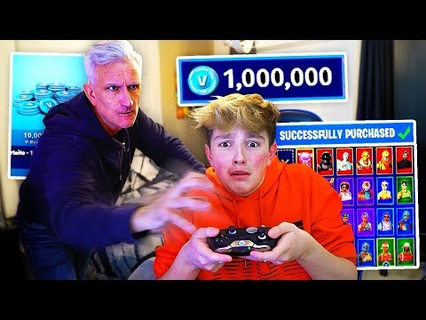 Kid Spends $1000 on FORTNITE with Dad's Credit Card... [MUST WATCH]