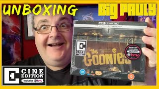 The Goonies 4k (HMV Exclusive Cine Edition) Unboxing