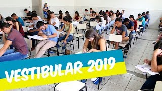 VESTIBULAR 2019 É REALIZADO NO UNIFOR-MG