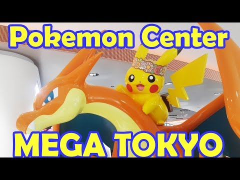 Japan Vlog Day 9 - Part 1 TOKYO POKEMON MEGA CENTER VLOG AND HAUL