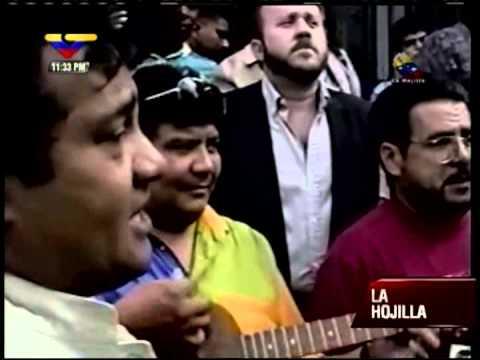 Hugo Chávez en 1994 sale de prisión y visita el Panteón Nacional